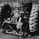Old Modified Tractor with winch.